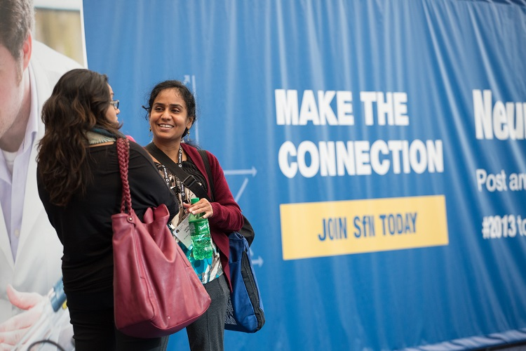 Annual meeting attendees make global connections with colleagues