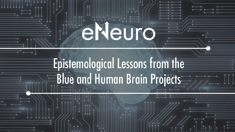 eNeuro's Epistemological Lessons from the Blue and Human Brain Projects logo